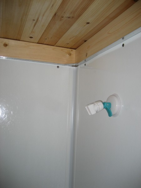 009 450x600   The Many Options for Showers in Tiny Houses