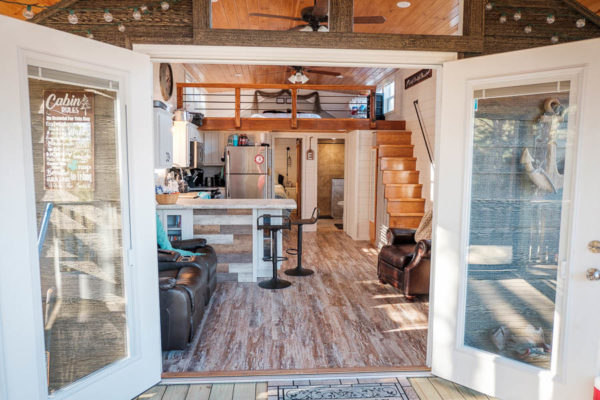 Step Van For Sale >> Our Tiny House: 400 Sq. Ft. Custom Park Model Cabin!