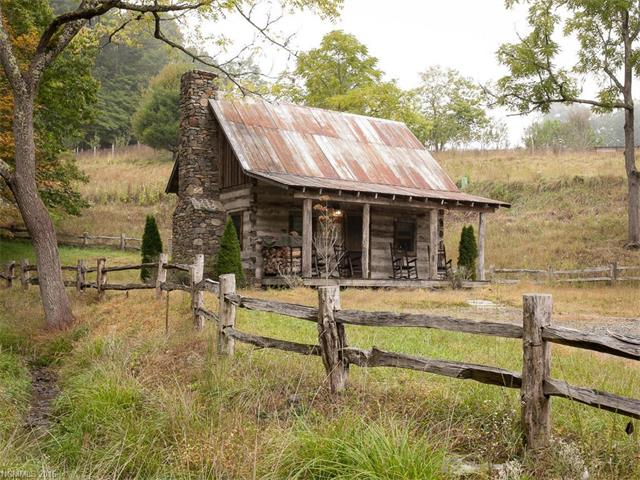 100 Year Old Tiny Log Cabin In Green Mountain