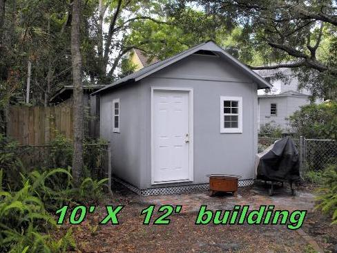 10x12 panelized tiny house building