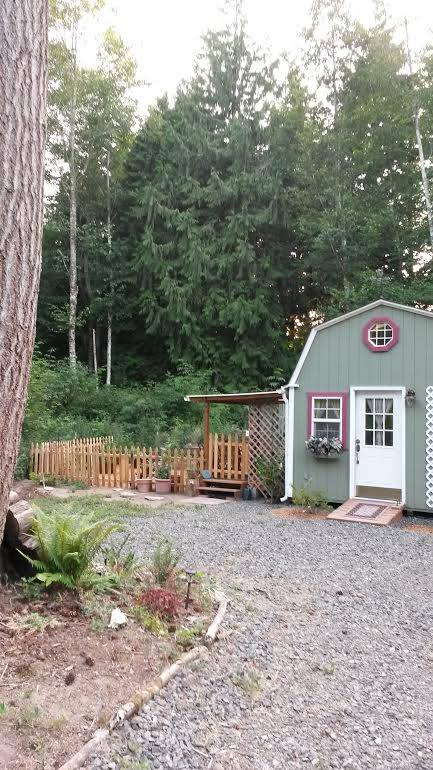 Woman Converts Barn Shed into 192 Sq Ft Tiny Home