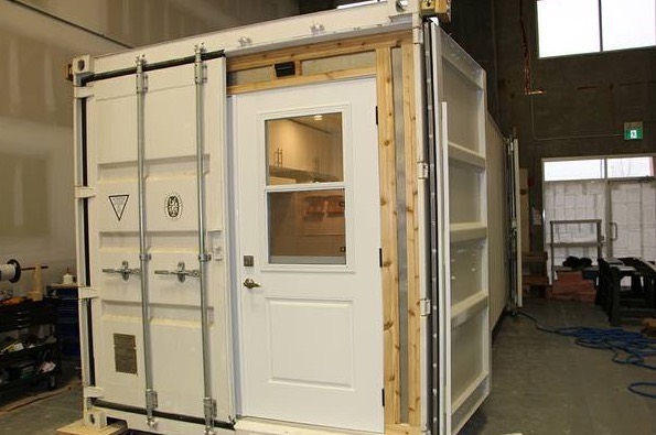 129 Sq. Ft. Shipping Container Tiny Home For Sale 002