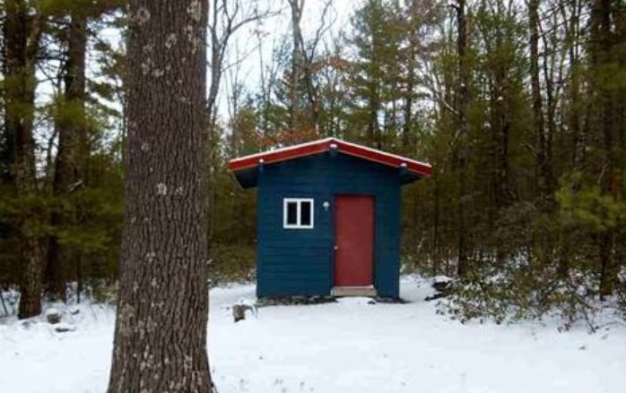 140 Sq Ft Tiny Cabin For Sale On 2 4 Acres
