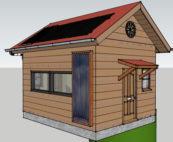 tiny house talk 192 sq ft off grid tiny cabin design