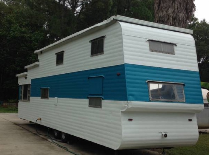 1954 Quot Two Story Quot Vintage Travel Trailer For Sale