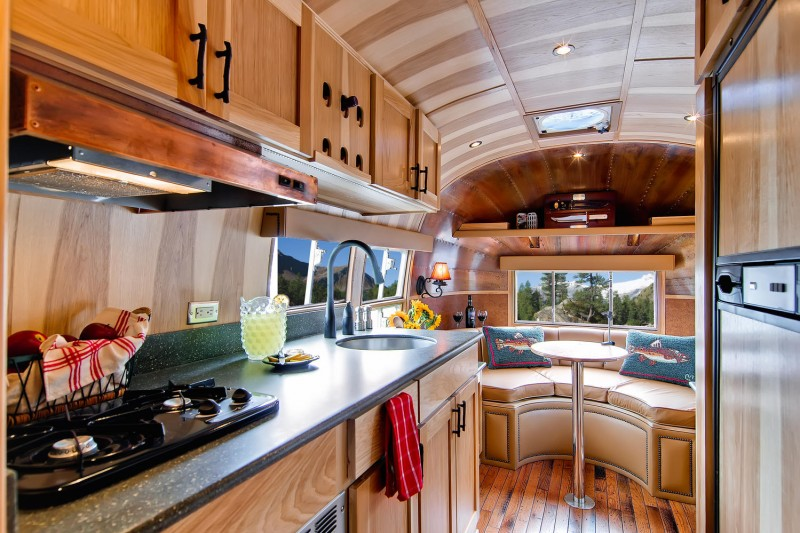 1954 airstream renovated into timeless tiny cabin on wheels