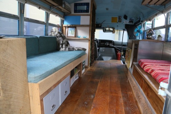 1988 Ford Ecoline 350 Short Bus Conversion 003