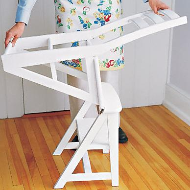 Folding Chair Ladder 2