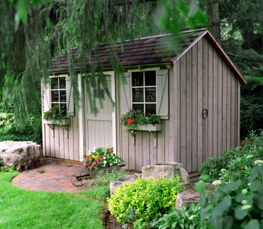 living in a garden shed   Living in a Shed?