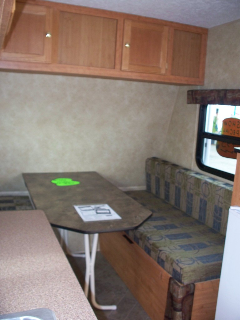 mini rv interior storage 768x1024   Mini RV: Micro Travel Trailer for just $6k