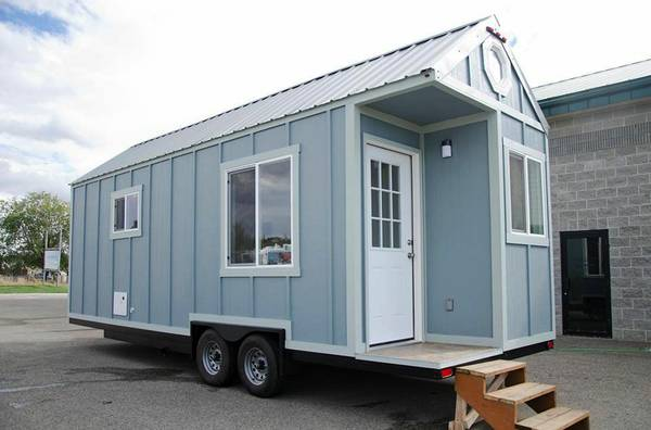 26 Ft. Blue Tiny House RV For Sale, St. Louis