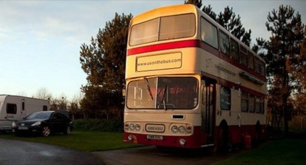 2 3 Bedroom Double Decker Bus Motorhome  Top 5 Double Decker Bus to  Motorhome Conversions. 2 Bedroom Campers For Sale