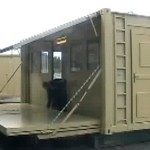Expanding Shipping Container Shelters