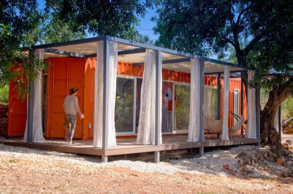 Architect envisions container tiny homes for simple living for Wohncontainer design