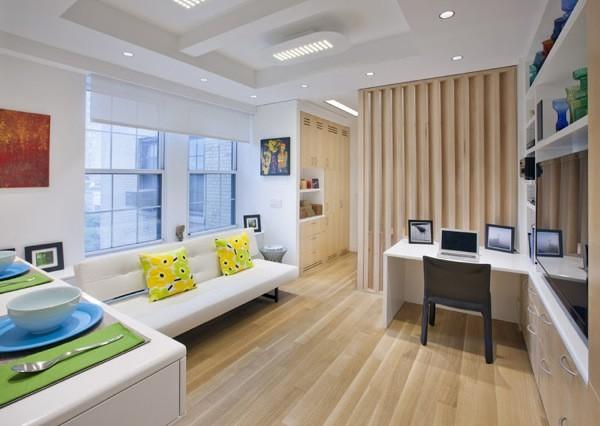 340 sq ft modern nyc studio apartment