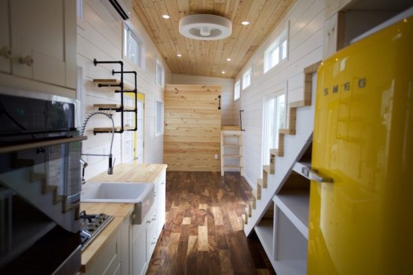 357 Sq Ft Tiny Home on Wheels for Family of 5 005