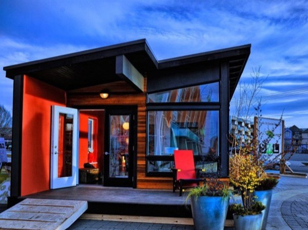400 Sq. Ft. Studio37 Modern Prefab Cabin