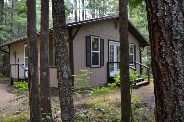 580 Sq. Ft. Tiny Cabin For Sale in Hoodsport, WA 0014
