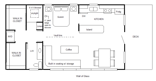 700 sq ft studio cottage suite by robert - Cottage Floor Plans