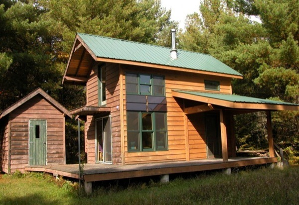 Diy Hand Built Off Grid Tiny Cabin