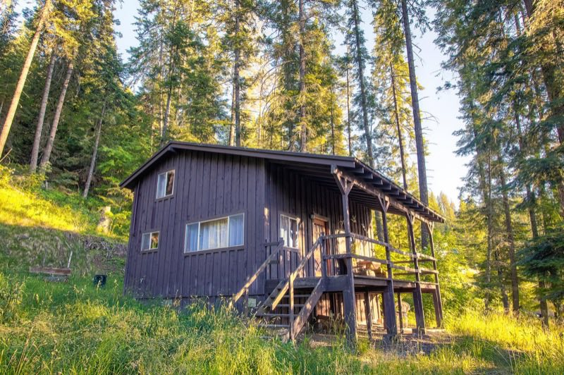 720 Sq Ft Rustic Cabin For Sale In The Mountains