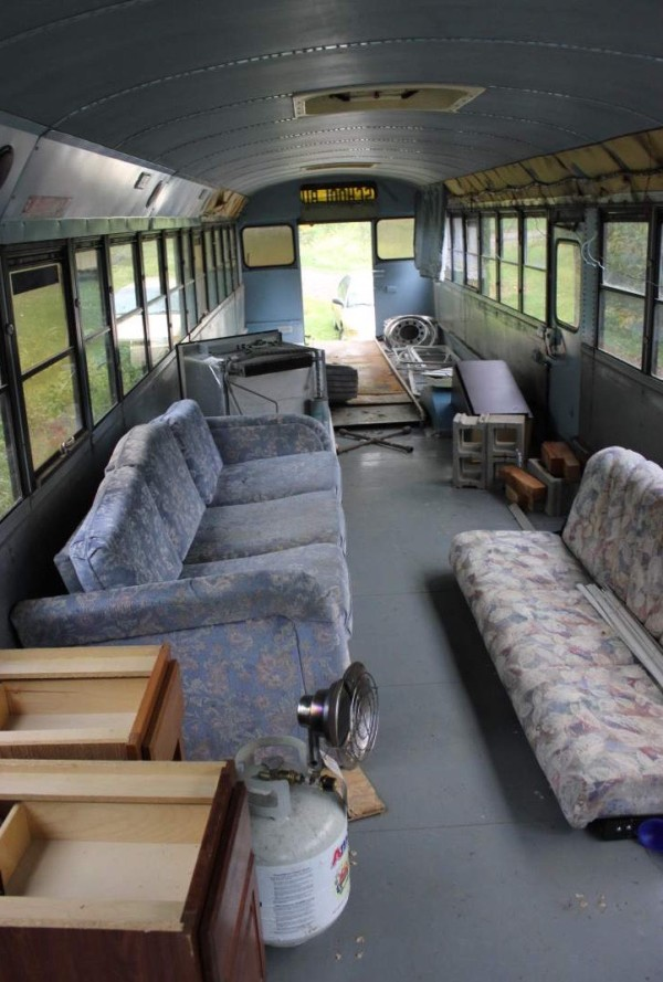 8 Students School Bus Conversion 008