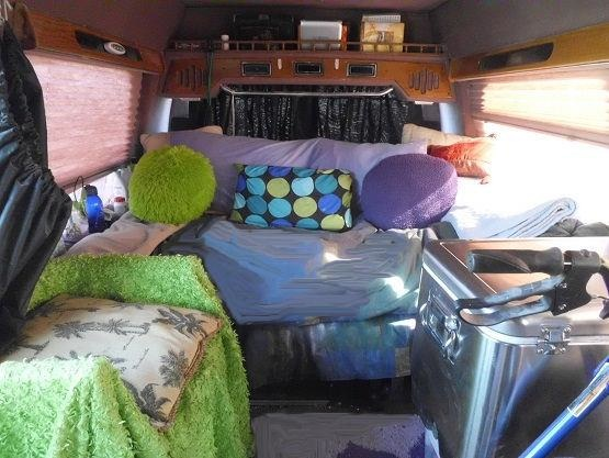 1991 G20 for Van Dwelling - Interior - Living in a Van