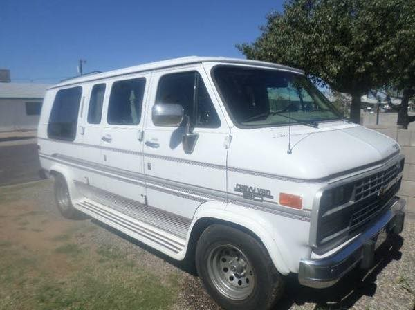 1994 chevy gladiator g20 van for sale. Black Bedroom Furniture Sets. Home Design Ideas