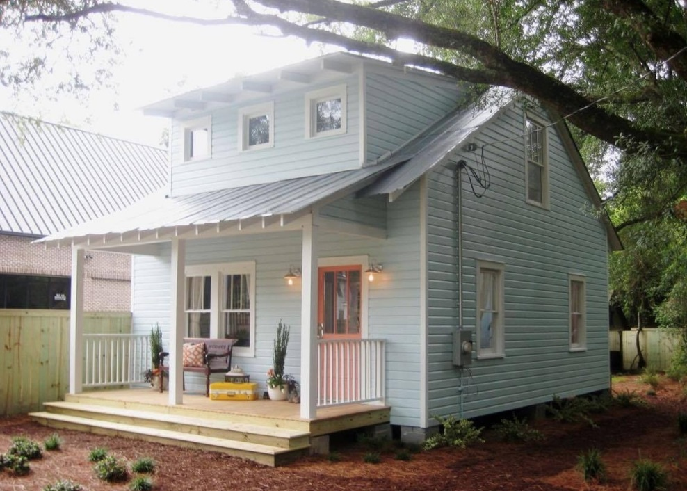 Tiny House Floor Plans Small Cabins Tiny Houses Small: 950 Sq. Ft. Renovated Small Cottage In St. George, SC