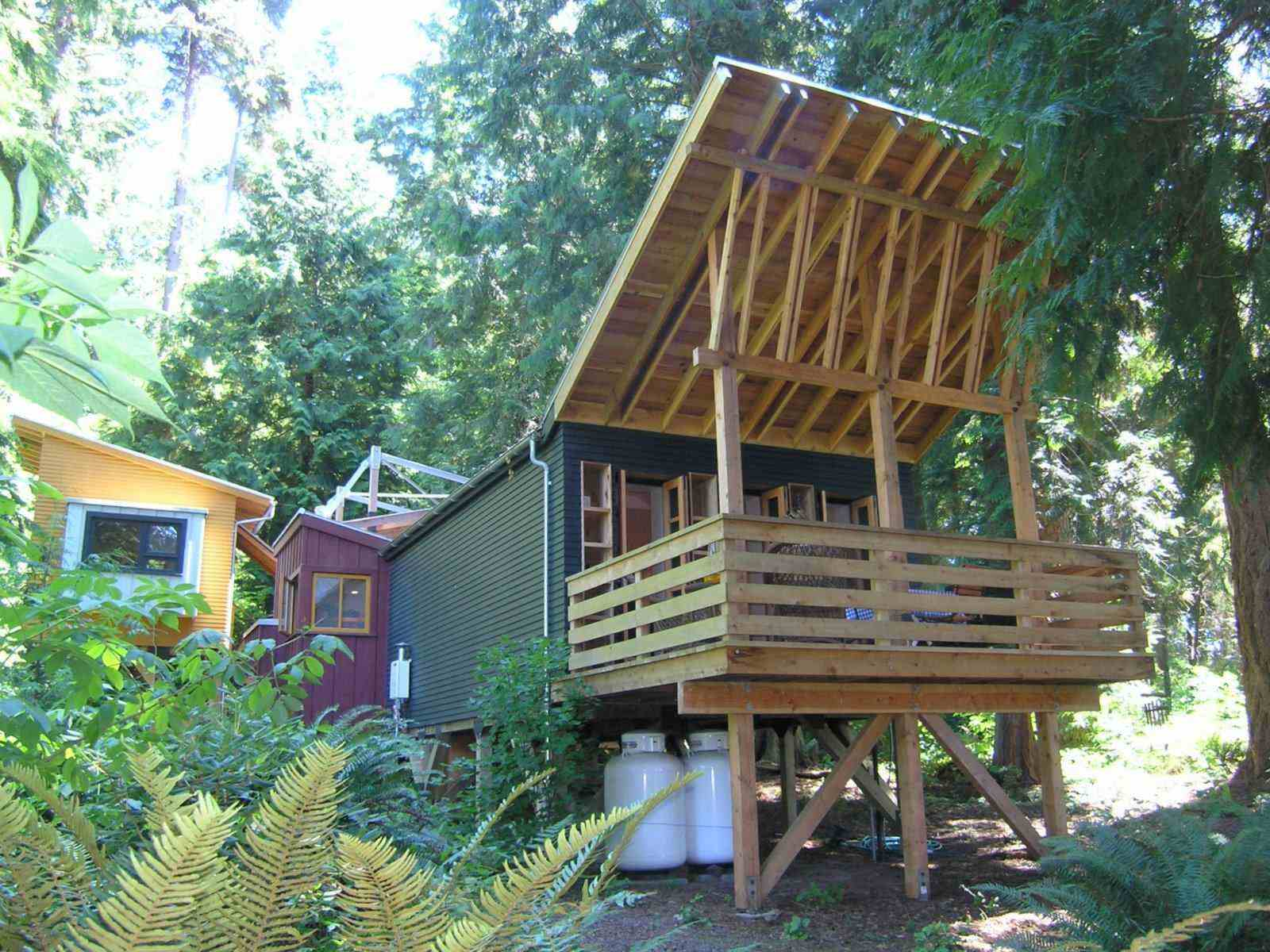 Small Home Plans: 998 Sq. Ft. Small House On Whidbey Island