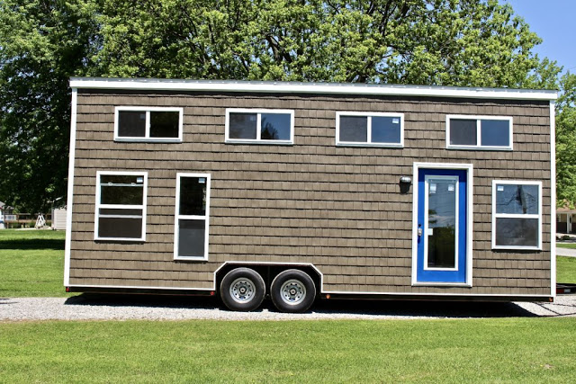 Mini Houses On Wheels: A 3-Bedroom Tiny House On Wheels
