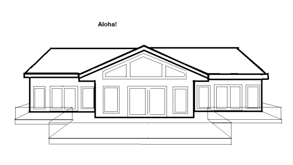 Aloha front elevation