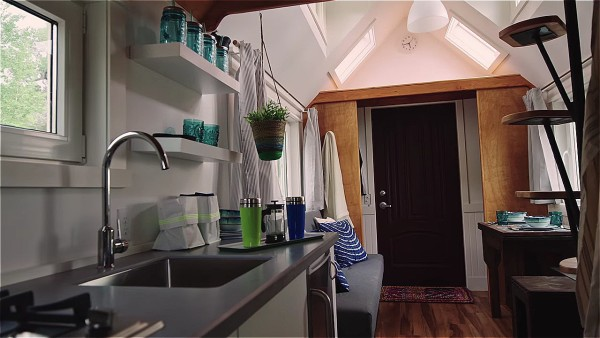 An Energy Efficient Tiny House On Wheels By Zack Giffin