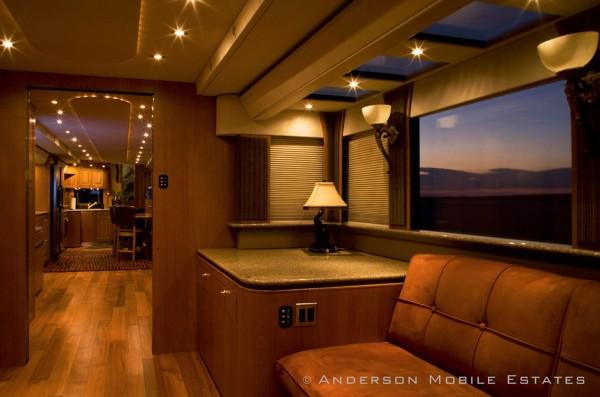 Anderson Mobile Estates Double Decker Semi Trailer 18 Wheeler Conversion 05