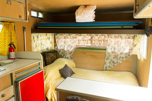 The Aristocrat trailer at the Sou'Wester Lodge