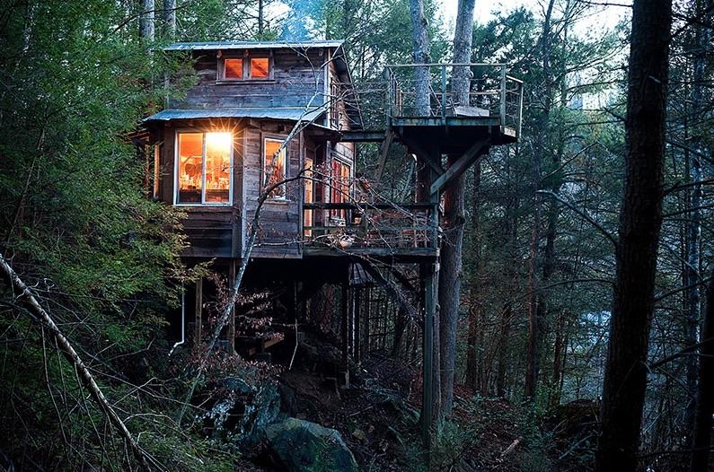 asheville treehouse