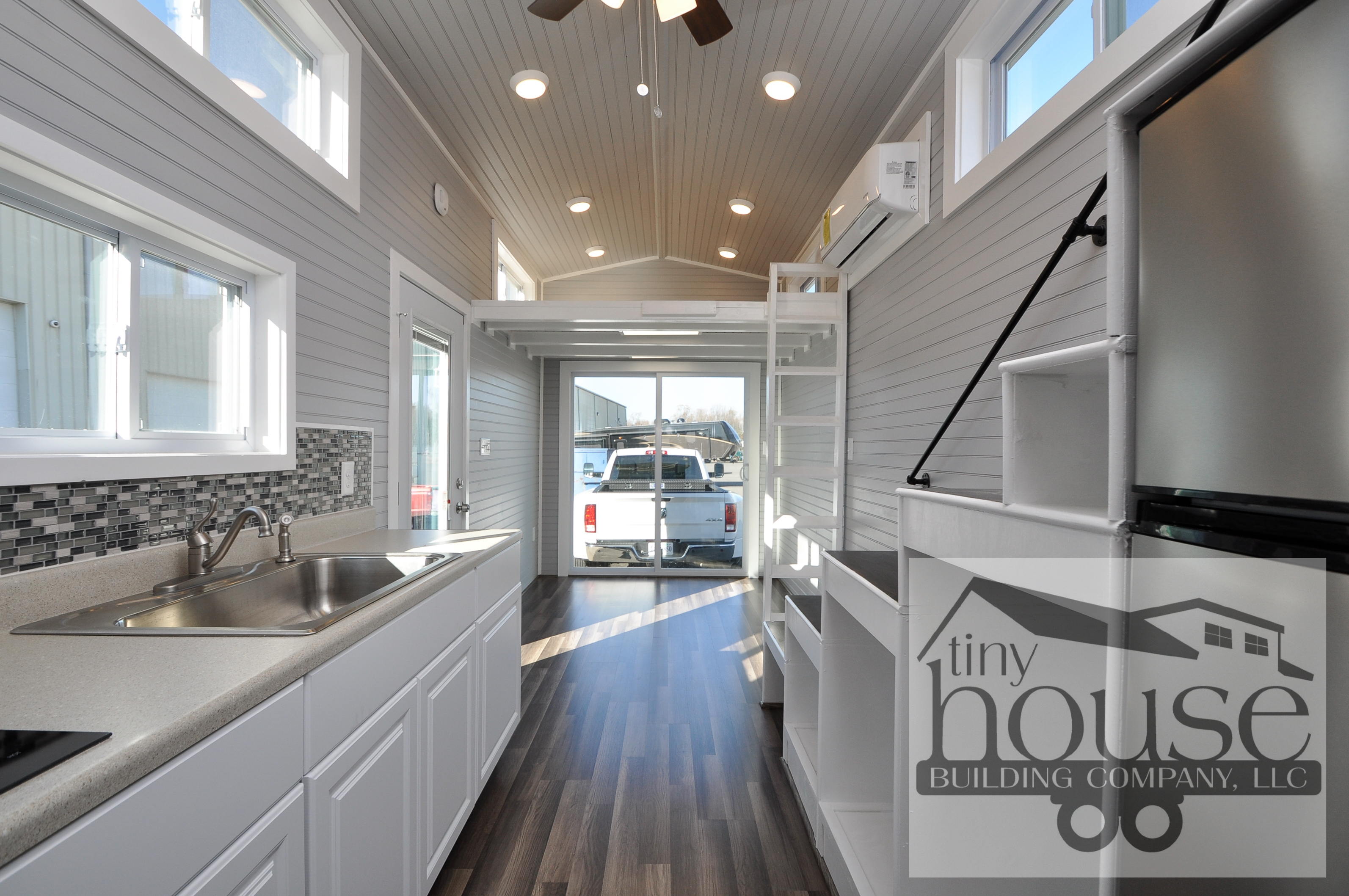 Bayview Tiny House Tiny Home On Wheels With Sliding Glass