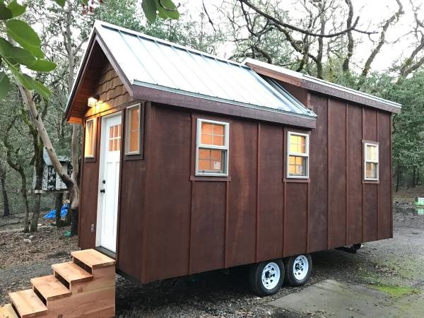 Beautiful Craftsman Tiny House For Sale In Or