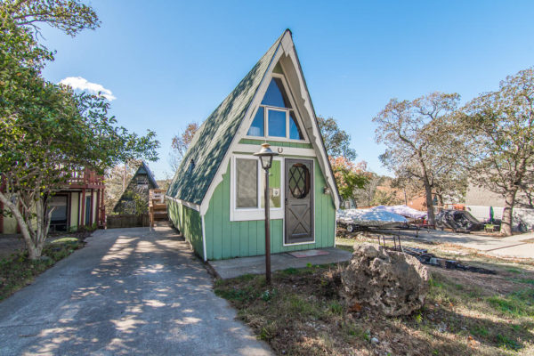 Beautiful Tiny A Frame Cottage In Lampe Mo For Sale
