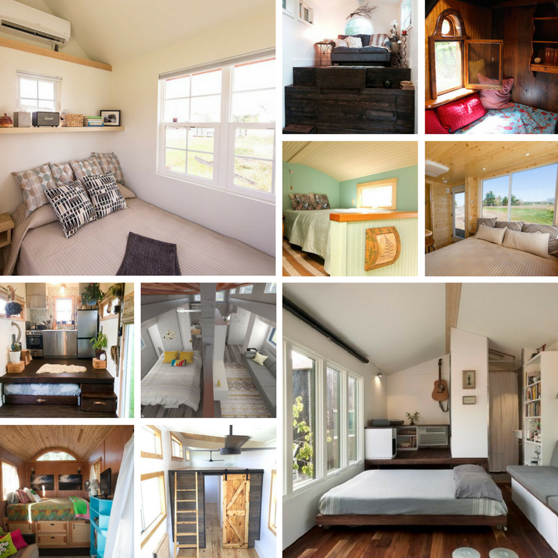 Best Small House Plans: Top 10 Tiny Houses On Wheels With Downstairs Bedrooms