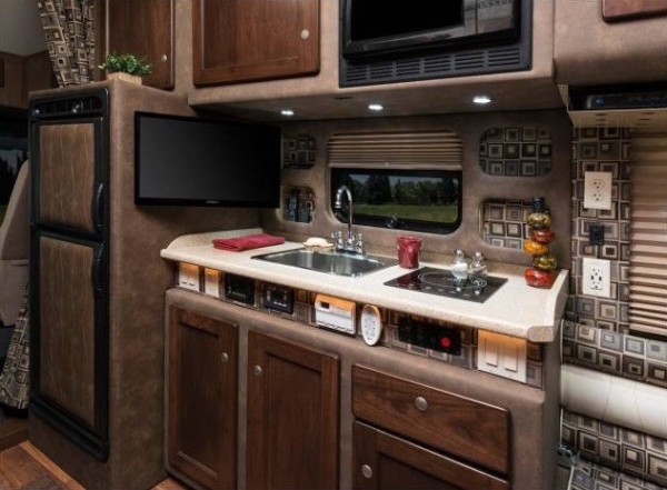 semi truck with bathroom.  Living and Working in a Bolt Custom Semi Tractor Trailer Truck