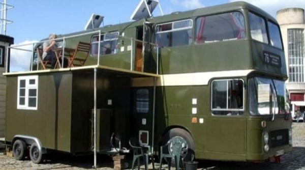 Top 5 Double Decker Bus To Motorhome Conversions