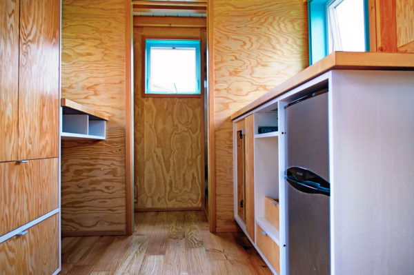 Bunk Box Modern Tiny House on Wheels Plans