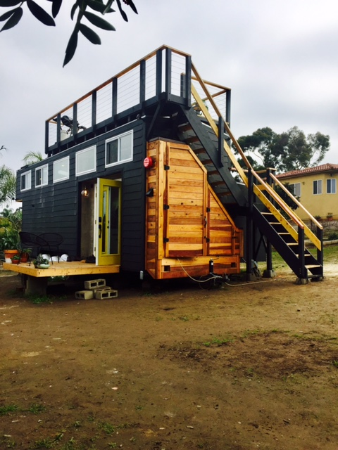 This Tiny House Even Has A Slide Out