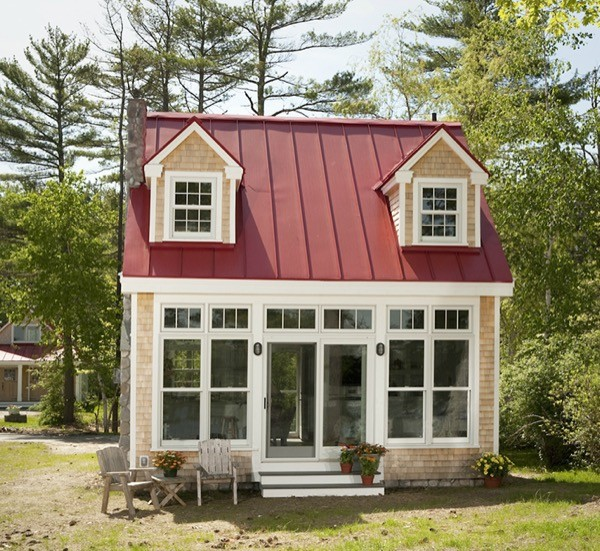 Tiny Victorian House Plans Small Cabins Tiny Houses Homes: Charming Tiny Bungalow By Creative Cottages