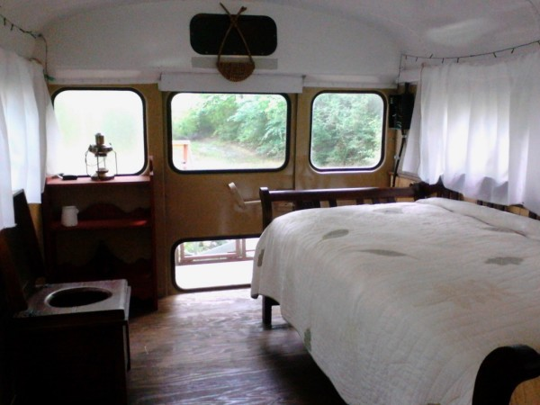 Chelie's Simple Rustic School Bus Conversion 0010
