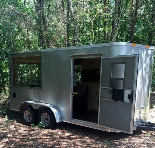 Converted Cargo Trailer Tiny House 001