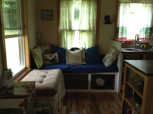 Couple Build 384 Sq. Ft. Tiny Country Cottage 05