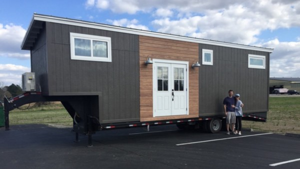 Couple's Custom 5th Wheel Tiny Home on Wheels 001