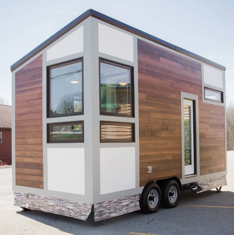 Modern Tiny House Cabin: Degsy Tiny House